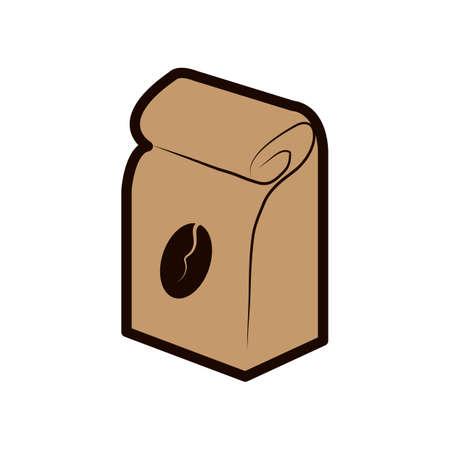 paquete de granos de cafe