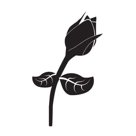 Rose-Symbol Standard-Bild - 81536258