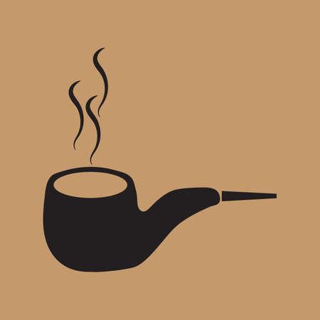 smoking pipe Standard-Bild - 106673377