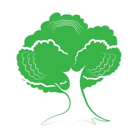 Baum-Symbol Standard-Bild - 81536431
