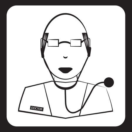 Doctor pictogram