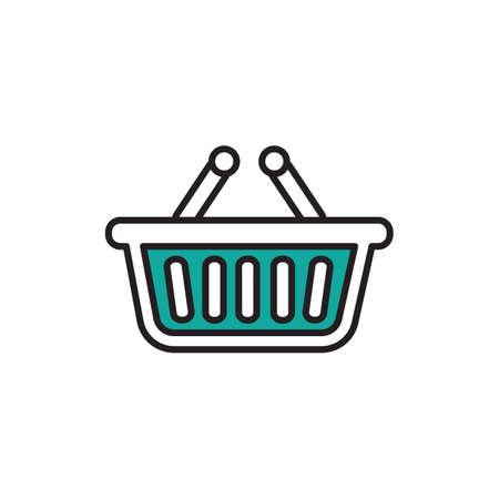 Shopping basket Çizim