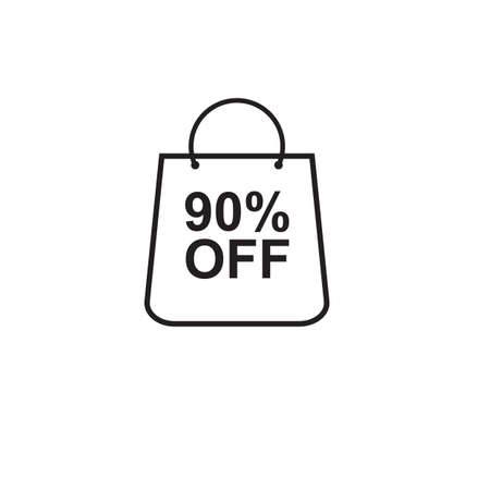 90 percent off bag