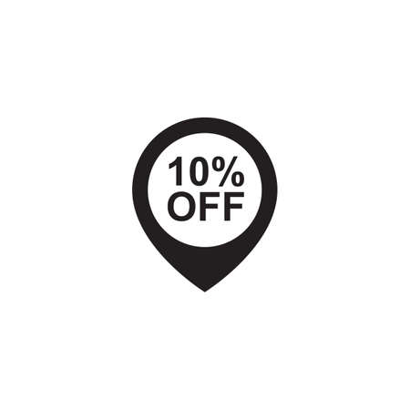 10 percent off pin Çizim
