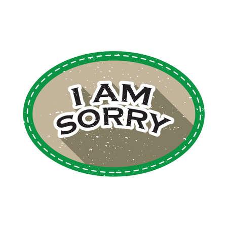 i am sorry Foto de archivo - 106673419