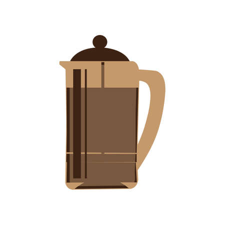 coffee jug Stock Illustratie