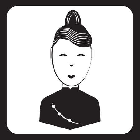 Frau in traditioneller Kleidung Standard-Bild - 81536511