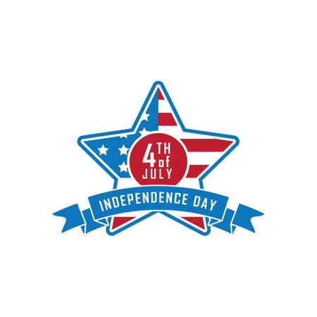 アメリカ独立記念日バナー