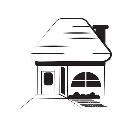 house icon Фото со стока - 81536540