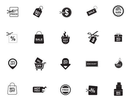 sales and offer icons