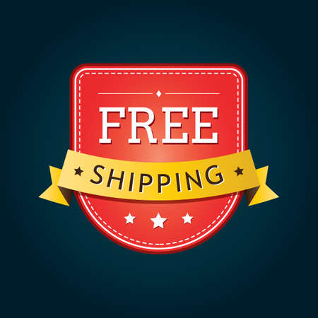 free shipping badge