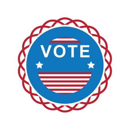 usa vote label
