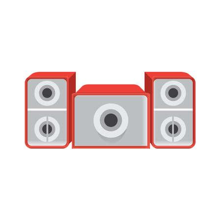 desk speakers  イラスト・ベクター素材
