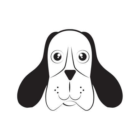 dog head Иллюстрация