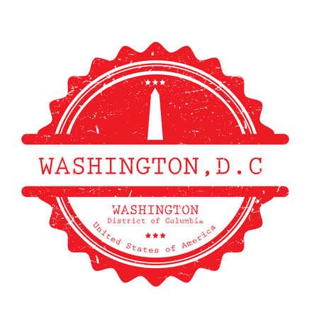 Illustrazione di etichetta di Washington.