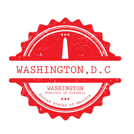 Washington label illustration.