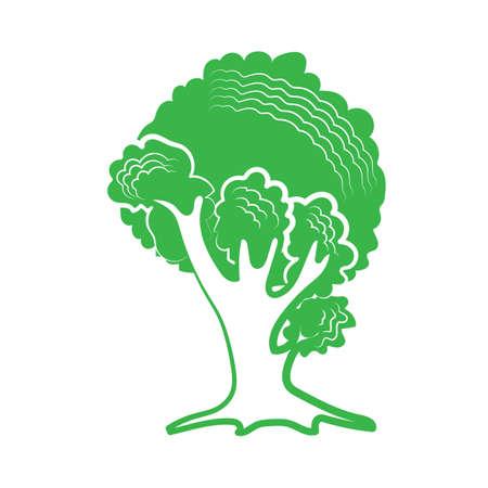 Baum-Symbol Standard-Bild - 81536643