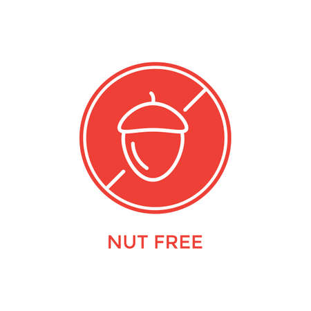 nut free label