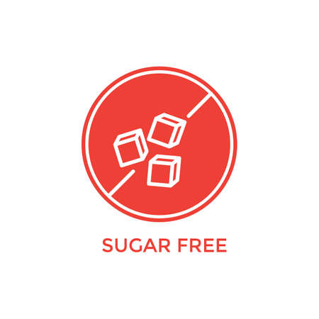 sugar free label Çizim