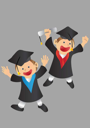 graduate students Illustration