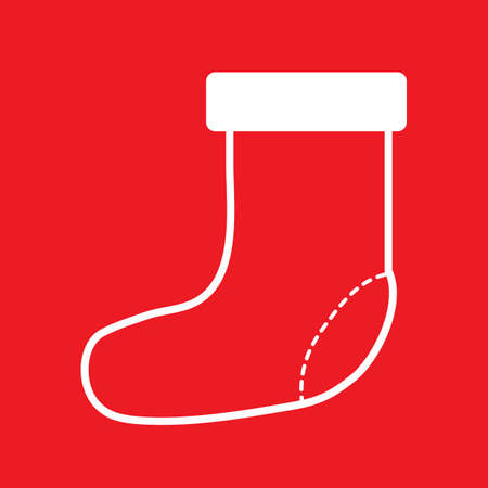 christmas socks Ilustrace
