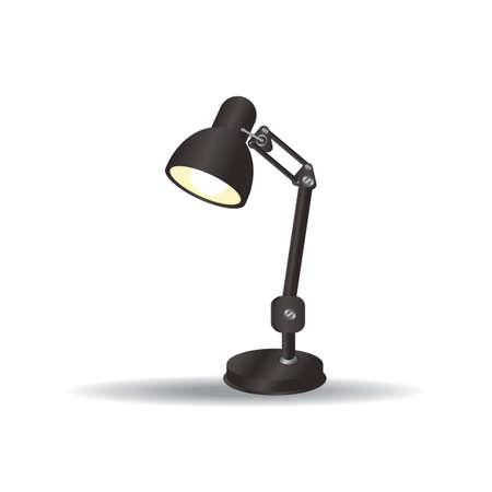 Lampada da scrivania Archivio Fotografico - 106673522