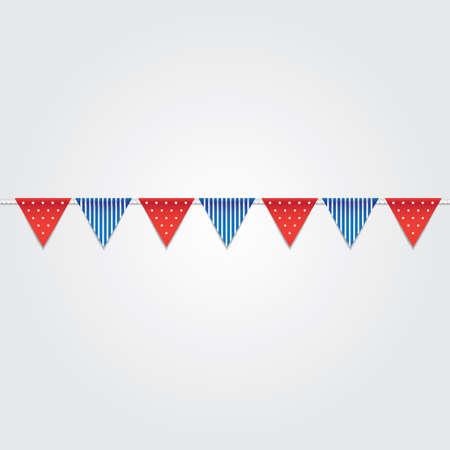 USA Flagge Flagge Abbildung. Standard-Bild - 81486759
