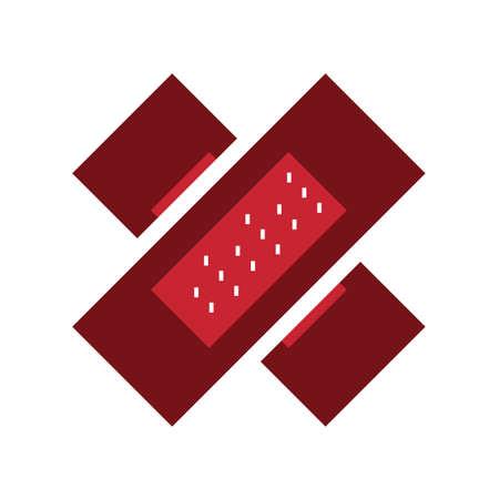adhesive bandage  イラスト・ベクター素材