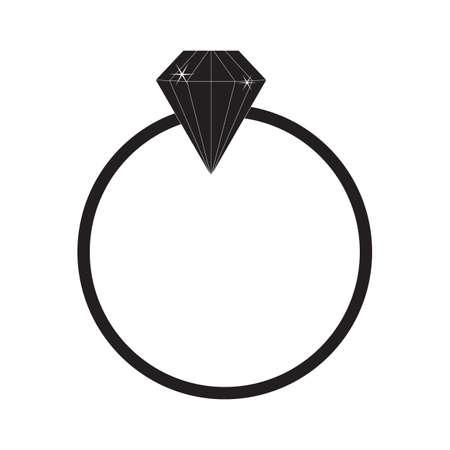 Diamant-Ring Standard-Bild - 81536661