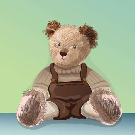 teddy bear Ilustrace