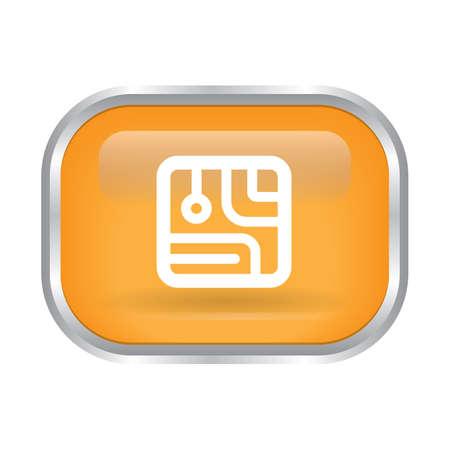 micro chip  button