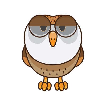 Owl feeling depressed