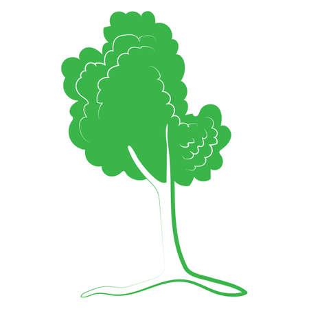 Baum-Symbol Standard-Bild - 81536666