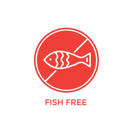 fish free label