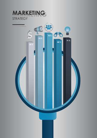 Stratégie de marketing Banque d'images - 81538867