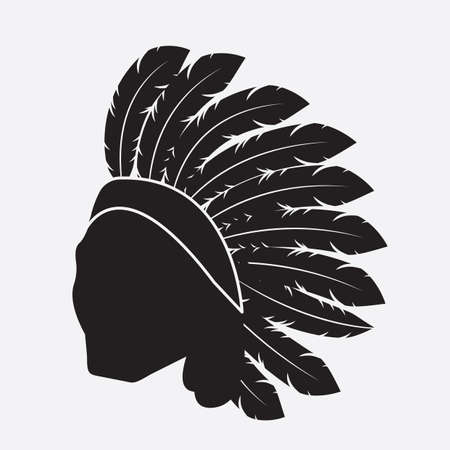 native american Иллюстрация