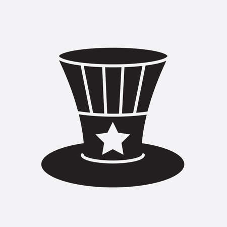 uncle sam hat Illustration