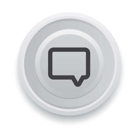 speech bubble button