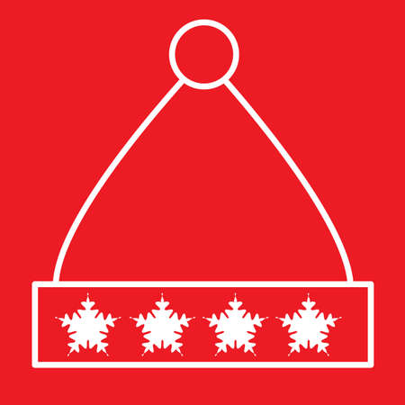 winter hat Ilustração