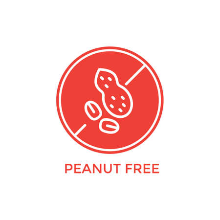 peanut free label