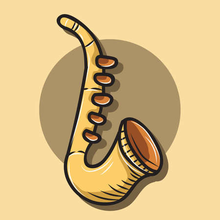 saxophone Çizim
