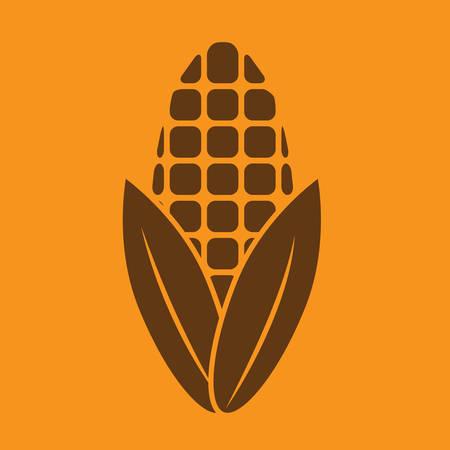 maïs Vector Illustratie