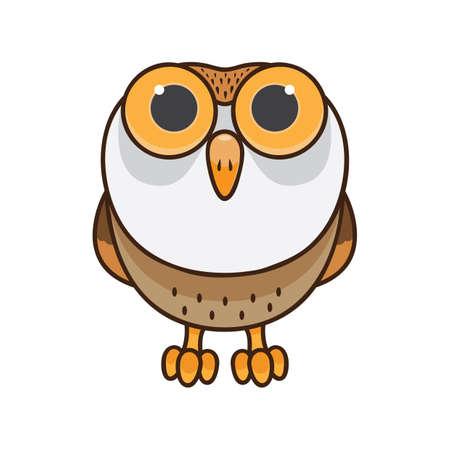Uil icoon Stock Illustratie