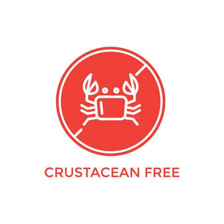 crustacean free label