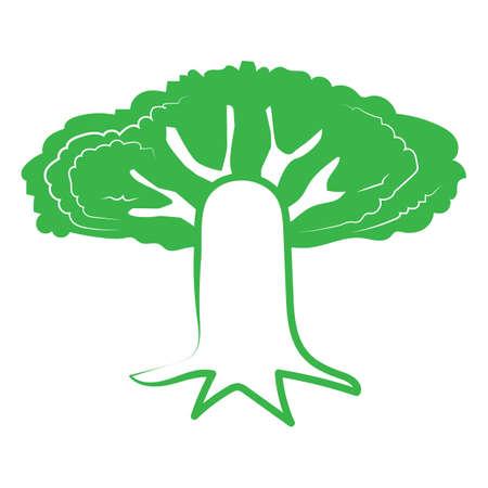 Baum-Symbol Standard-Bild - 81536677