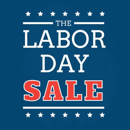 A labor day poster illustration. Vector Illustration