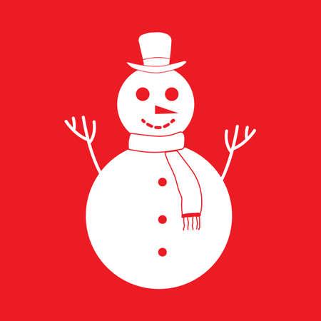snowman 向量圖像