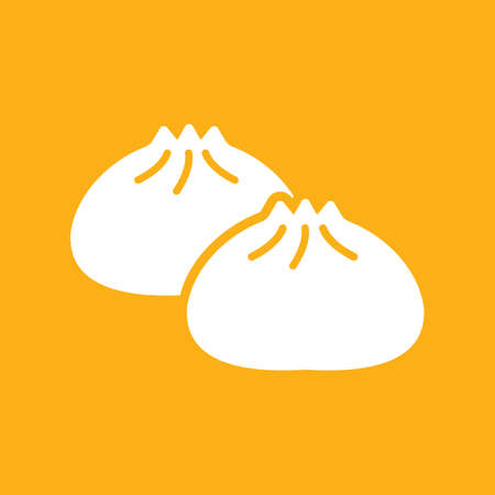 Dumpling icon Illustration