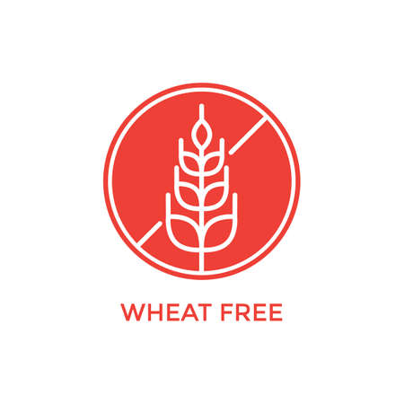 wheat free label