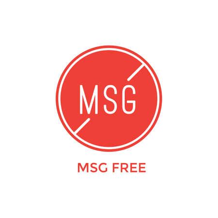 msg free label